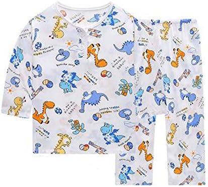 リトルボーイズ恐竜パジャマコットン子供の服ショートセット子供の寝間着