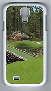 12th Augusta National PC Hard Case Cover For Samsung Galaxy S4 SIV I9500 Case and Cover White