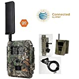 Spartan at&T 4G LTE GoCam Deluxe Package 720P Wireless Trail Camera Glow IR (Camera, Lock Box, Cable, Swivel Mount)