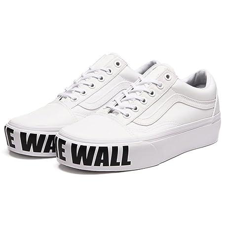 scarpe vans bianco nero