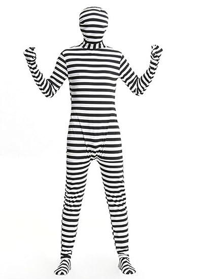 Disfraz de Preso Traje de Prisionero convicto para Adultos ...