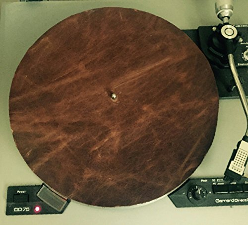 Full Grain Leather Turntable Mat (Turntable Leather Mat compare prices)