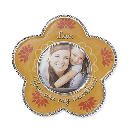 Carpentree 113252 Magnet - Photo Frame-Love And You Are My Sunshine - 3.5 x 3.5