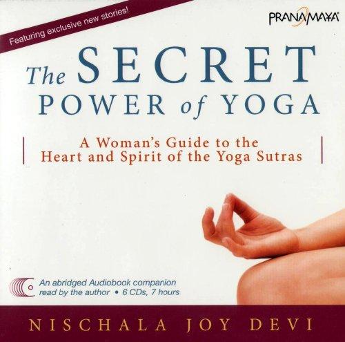 Price comparison product image The Secret Power of Yoga 6 CD Set Audiobook