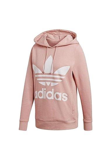 free delivery new york online store adidas Damen Trefoil Hoodie