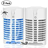 KAEN Electric Indoor Bug Zapper, Mosquito Killer, Insect and Fly Zapper Catcher Killer Trap with UV Night Sensor Light for Home, Office and Patio Indoor Use