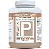 PROMIX Chocolate Peanut Butter Powder, 1lb | 5g Protein, 55 Calories, 34 Servings | Vegan, Natural, Organic, Low Calorie