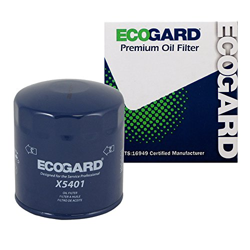 Quattro Engine Audi 90 (ECOGARD X5401 Spin-On Engine Oil Filter for Conventional Oil - Premium Replacement Fits Volkswagen Passat / Audi A6 Quattro, A4 Quattro, Allroad Quattro, A4, S4, A6, Cabriolet, 90 Quattro, 90)
