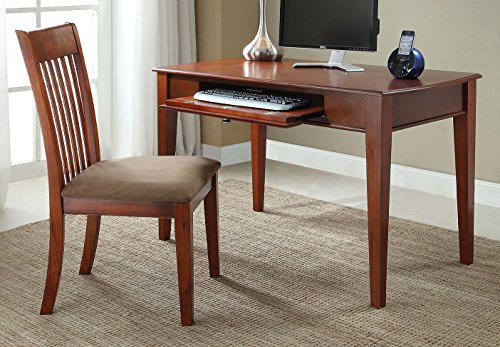 ACME Venetia Oak Desk and Chair 2 Piece by Acme Furniture