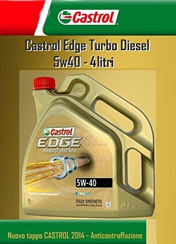 Castrol Edge Turbo Diesel FST 5W40 - Aceite para motor, ...