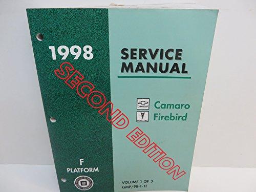 1998 Chevrolet Camaro and Pontiac Firebird Service Manual