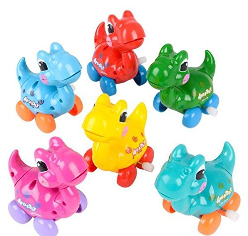 3.25'' WIND-UP DINOSAUR TOY, Case of 72 by DollarItemDirect (Image #3)