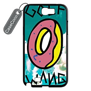 CASECOCO OFWGKTA Samsung Galaxy Note 2 Case Hard Back / Black Rubber Sides Case for Samsung Galaxy Note 2