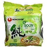 Nongshim NS02284S Soon Veggie Noodle Soup Family Pack, 448-Gram