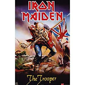 GB Eye, Iron Maiden, Trooper, Maxi Poster, 61x91.5cm