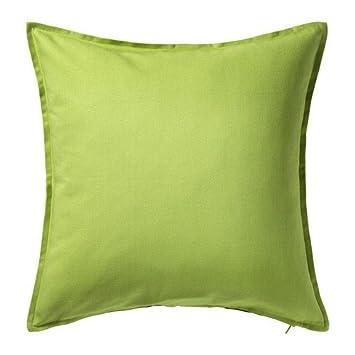 IKEA GULLKLOCKA Kissenbezug Kissenhülle Kopfkissen Bezug  GELB 50x50cm NEU