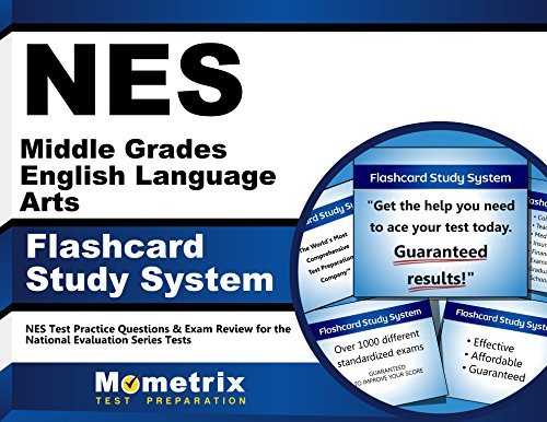 NES Middle Grades English Language Arts Flashcard Study System: NES Test Practice Questions & Exam Review for the National Evaluation Series Tests (Cards)