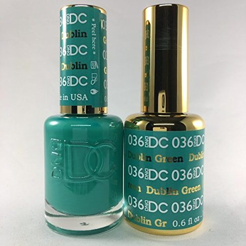 DND DC Duo Gel + Polish - 036 Dublin Green