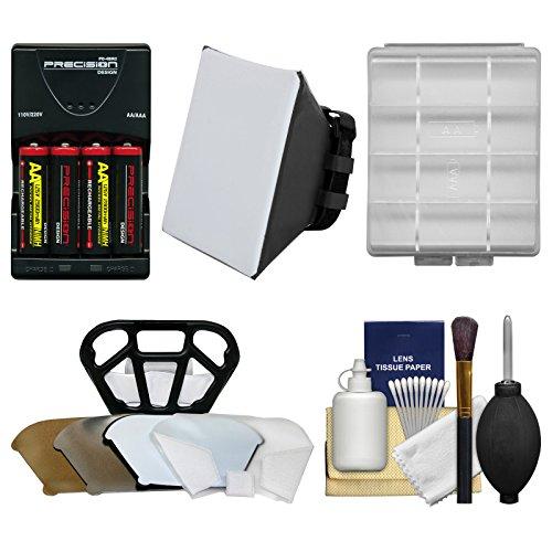 Essentials Bundle for Canon Speedlite 320EX, 430EX II, 600EX