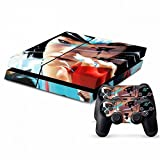 Mod Freakz Console and Controller Vinyl Skin Set - Fighting Ninja Girl Mirror's Edge for Playstation 4