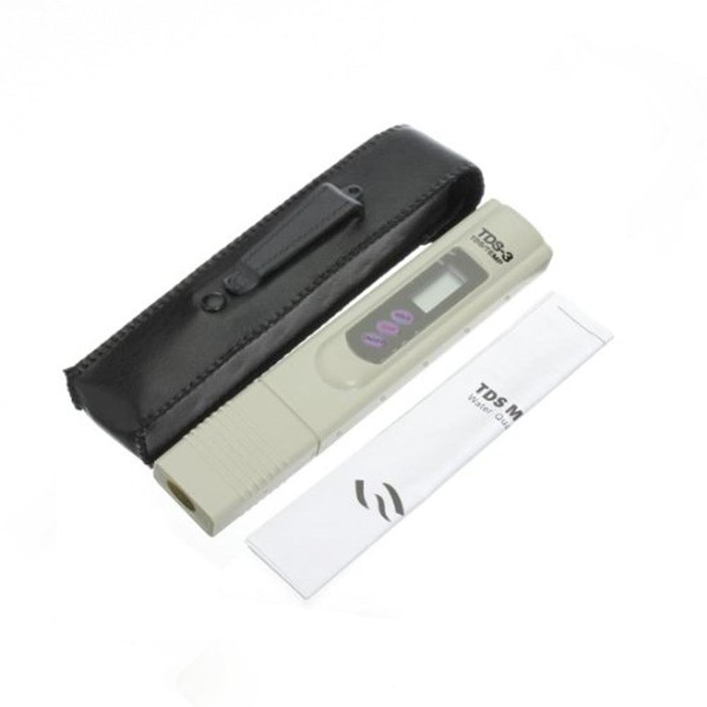 TDS Meter Digital LCD Tester Water Quality Filter Purity Pen Stick 0-9999 PPM