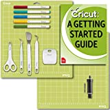 Cricut Tools Bundle Beginner Guide, Cutting Mat, Deep Cut Blade and Housing, Basic Tools, Pens