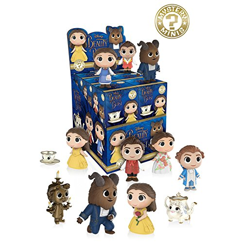 Funko Mystery Minis Vinyl Figures - Disney's Beauty & the Beast - Blind Packs (5 Pack (Beast Vinyl Figure)