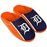Forever Collectibles Detroit Tigers Slippers Jersey Slide House Shoes