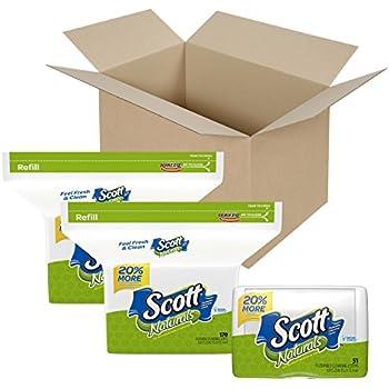 Amazon Com Scott Naturals Flushable Cleansing Cloths
