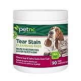 PetNC 90 Count Tear Stain Pads