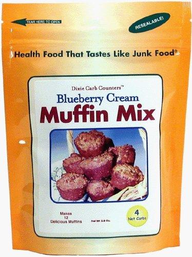 Dixie Carb Counters Blueberry Cream Muffin (Dixie Sugar)