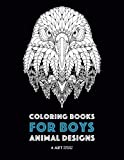 Best Teenager Books - Coloring Books for Boys: Animal Designs: Detailed Animal Review