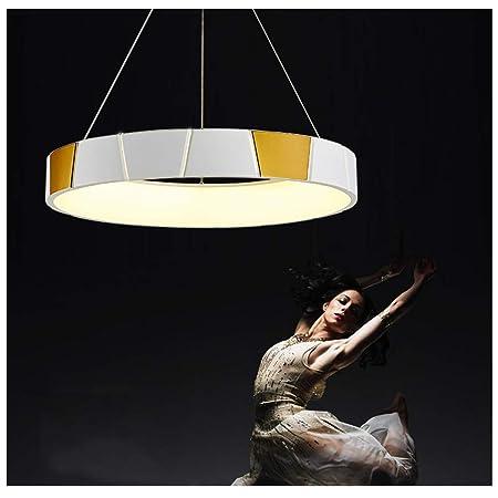 Lampade A Sospensione Per Ufficio Prezzi.Jumro Led Lampada A Sospensione Tondo Lampadario Dimmerabile