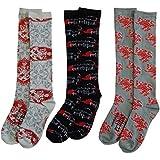 Set of 3 Twilight Saga Eclipse Pairs of Socks