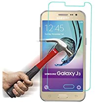 Galaxy J3 / Express Prime / Amp Prime Premium Tempered Glass Screen Protector, Asstar High Definition (HD) Touch screen 0.3mm 2.5D for Samsung Galaxy J3 / Express Prime / Amp Prime (2-PACK)