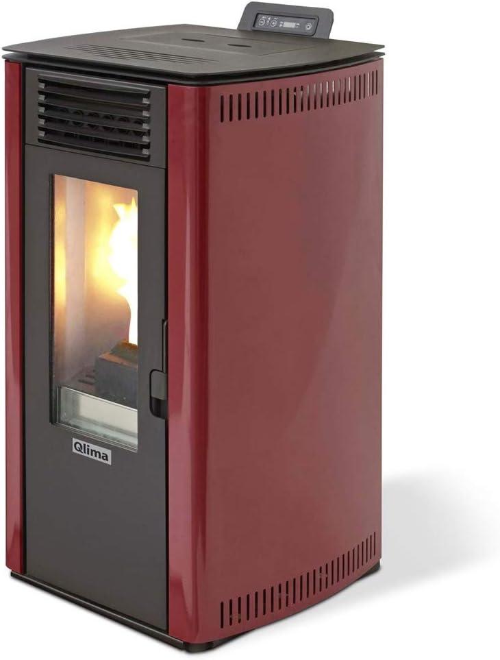 Qlima estufa de pellets 8.4kw 200mc Calefacción casa Burdeos eurostove 74debidas