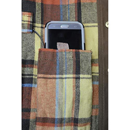 DEWALT DCHJ081TD1-XL Heated Heavy Duty Shirt Jacket, XL, Tobacco by DEWALT (Image #3)
