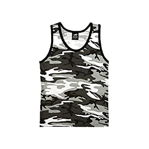 RC-6607-2XL-CITY Rothco Mens Tank Top - Camouflage, City Camo By Rothc
