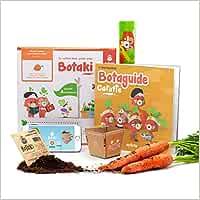 Carotte - t02 - botaki le kit pret a semer carotte - une expérience innovante de jardinage, dediee: Une expérience innovante de jardinage, dédiée aux enfants ! (Les Kits Prêt à semer)