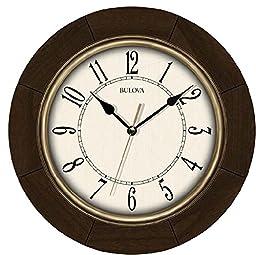 Bulova Deco 12 in. Wall Clock