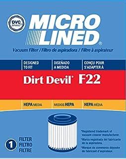 Dirt Devil Upright Vacuum Cleaner Style F-22 Hepa Filter Part # 1LV1110000