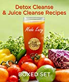 It is important for people to be healthy. A boxed set of three books on detox cleanses and juicing can help people to be able to effectively rid their bodies of toxins. People who do this are able to lose weight because the body becomes much healthie...