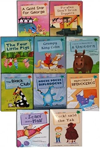 Read at Home Early Readers 10 Book Banded School Picture book Gift Set Pack (Graded Reading) - Banded Box