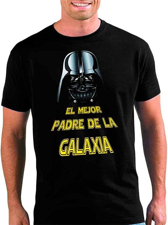 Mx Games Camiseta Star Wars Darth Vader,el Mejor Padre Manga Corta (Talla: Talla L Unisex Ancho/Largo [56cm/74cm] Aprox): Amazon.es: Juguetes y juegos