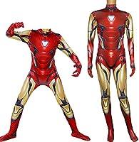 NDHSH Avengers Iron Man Cosplay, niño Adulto Disfraz Disfraz Traje ...