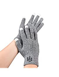 Vital Salveo - Full Finger Recovery Touchscreen Gloves for Phones and Tablets(Pair)