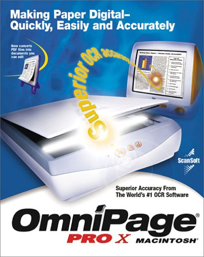 nuance omnipage pro x mac