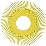 Scotch-Brite(TM) Radial Bristle Brush Replacement Disc T-A 80 Refill, Aluminum Oxide/Cubitron, 6000rpm, 6 Diameter, 80 Grit, Yellow (Pack of 40)