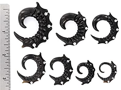 SCORPIONS TAIL Wholesale Horn Hanger Organic Body Jewelry 12g 00g Price Per 1