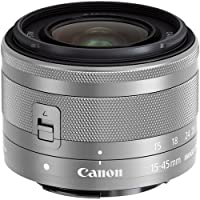 Canon 15-45mm f/3.5-6.3 IS STM Lens (White) - International Version (No Warranty)